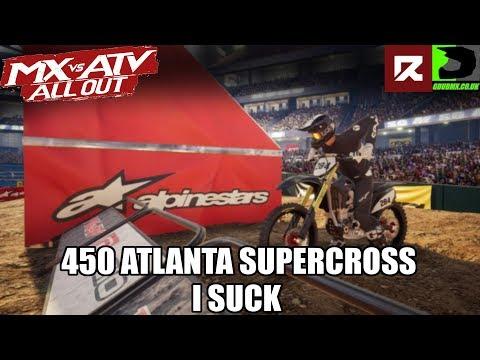 MX vs ATV All Out | 450s Atlanta Supercross Online | The Worlds Whackest Rider...