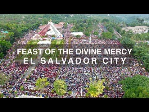 Feast of the Divine Mercy El Salvador City 4K
