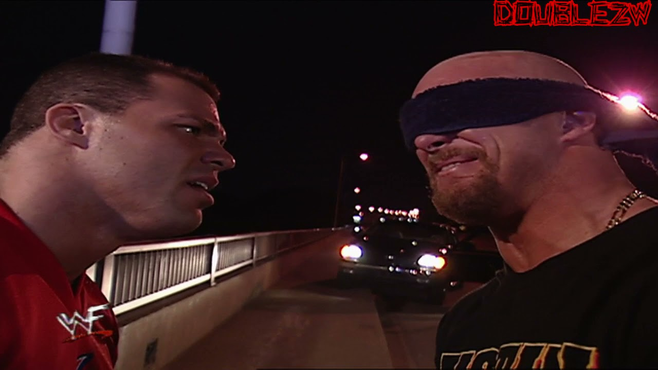 Kurt Angle Holds Stone Cold Hostage   September 3, 2001 Raw Is War Part 2/2