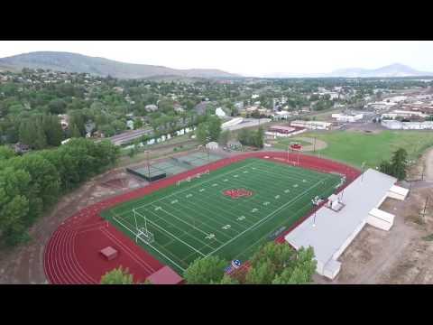Klamath Union High School & Football Field