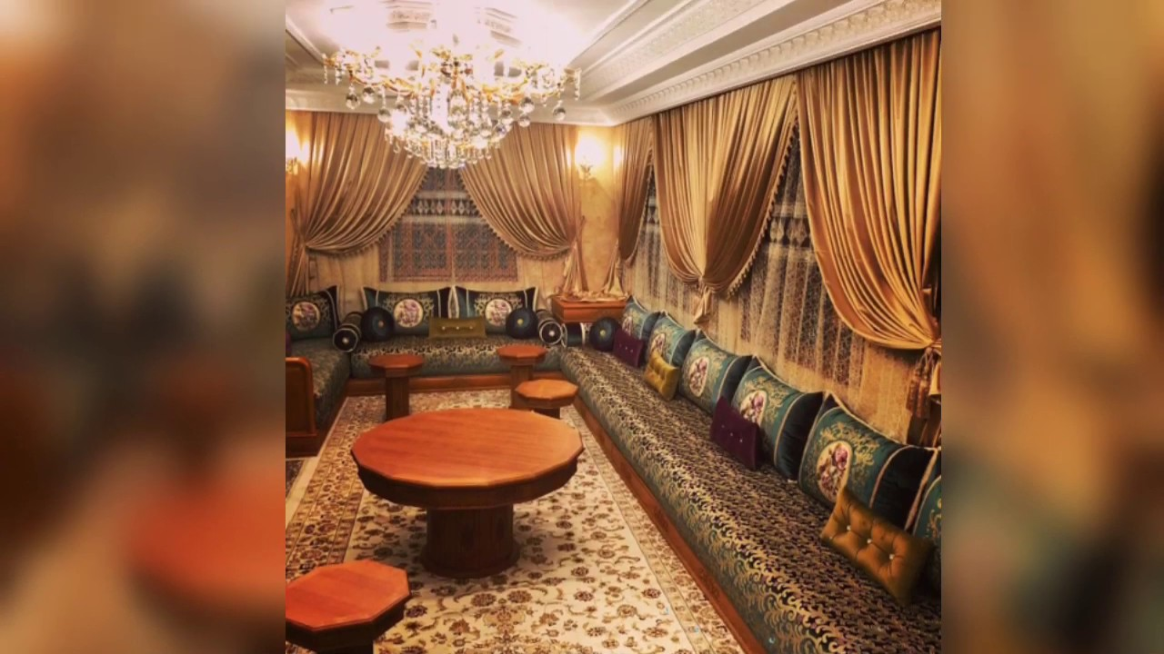 Living room design ideas in Arabic style