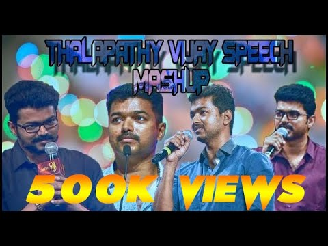 Thalapathy Mass Speech Mashup