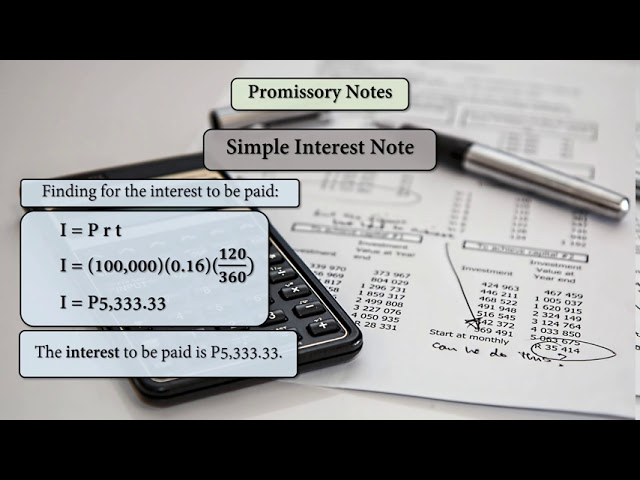 Mathematics of investment promissory note non financial factors involved in investment decisions