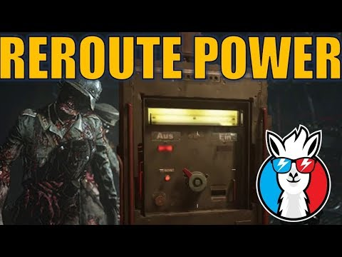 Reroute the Power - Call of Duty WW2 Zombies Final Reich