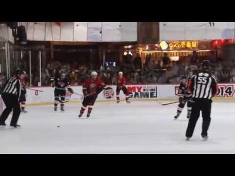 2014 Mega Ice Hockey 5's Tournament - International A (Kreuz Subsea Sharks vs HK Tigers) 1 of 3