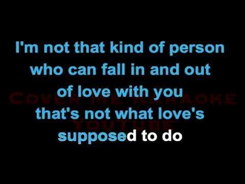 Don't Go Breaking My Heart - Backstreet Boys   CoverMeKaraoke