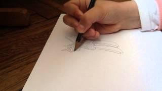 Как нарисовать Принцессу Каденс.           Часть 1(Привет!!! В этом видео я рисую Принцессу Каденс простым карандашом., 2015-05-03T07:28:33.000Z)