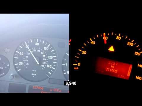 Mercedes-Benz C320 W203 vs BMW X5 4.4i