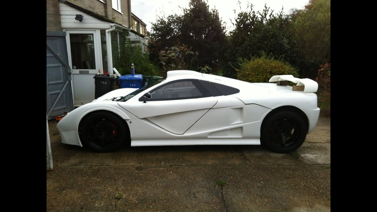 Kit Car Build DDR Motorsport GT Mclaren F Replica Style Pre - Cool kit cars