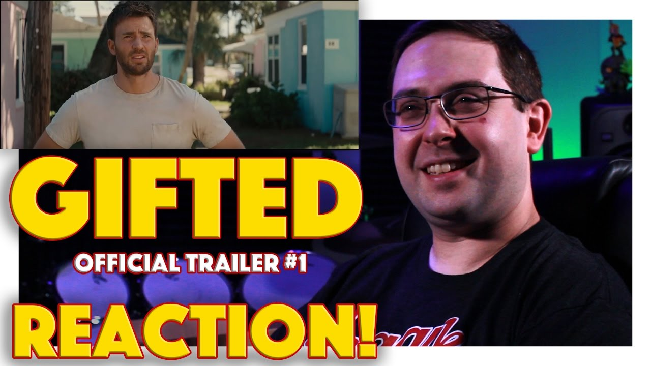 REACTION! Gifted Official Trailer #1 - Chris Evans Movie ...