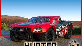 hunter bl short course truck by dhk hobby