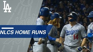 See all the Dodgers' homers in the 2017 NLCS