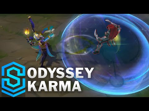 Odyssey Karma Skin Spotlight - Pre-Release - League of Legends