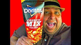 Doritos Crunch Mix ~ Nacho Cheese REVIEW!