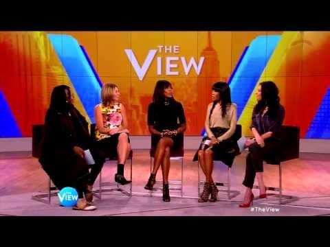 Naomi Campbell Talks