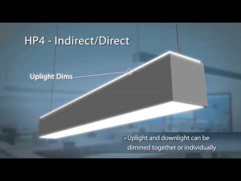 The Hp4 Indirect Direct Led Linear
