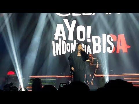 Gita Gutawa - Mau Tapi Malu    Konser Ayo! Indonesia Bisa