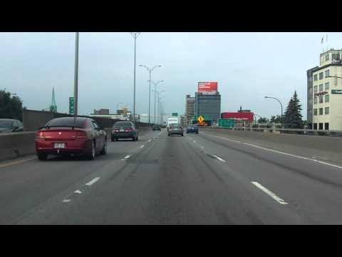 Metropolitan Expressway (Autoroute 40 Exits 80 to 66) westbound
