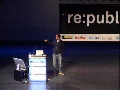 re:publica 2010 - Peter Sunde  - Flattr Social Micro Donations