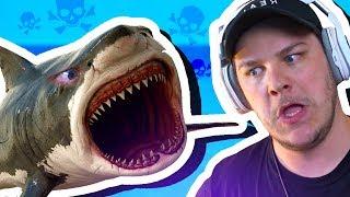 THIS DUMB SHARK IS DEAAAAAAAAAD BOYS | Raft #4
