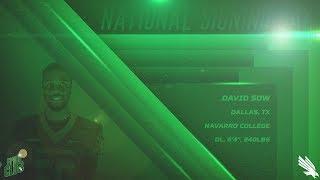 North Texas Football: DL - David Sow NSD 2018
