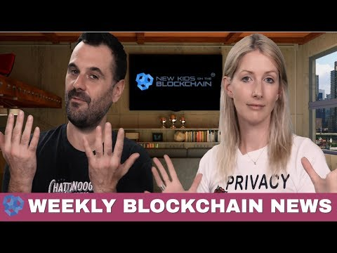 Blockchain News Show - EOS, JSNIP4, Crypto Events and ICOs