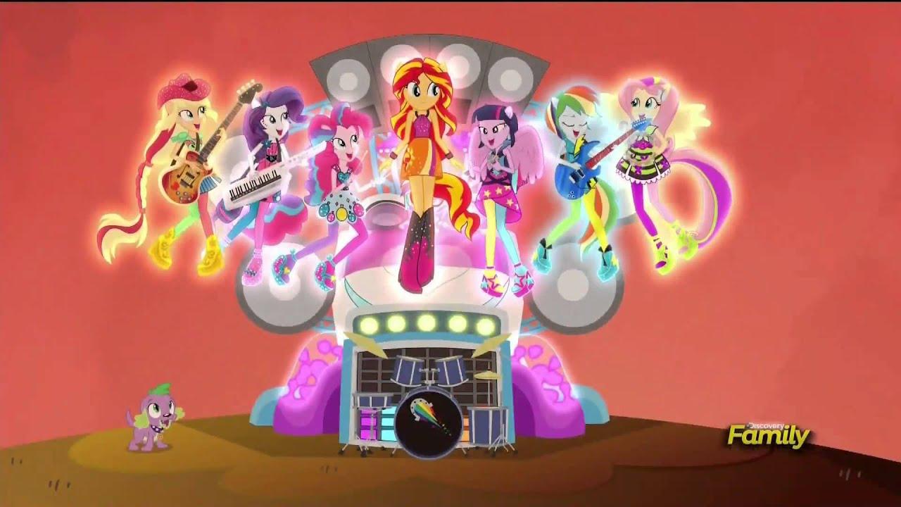 My Little Pony Equestria Girl Rainbow Rocks Deutsch