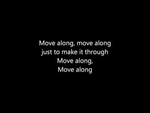 Move Along - The All American Rejects lyrics