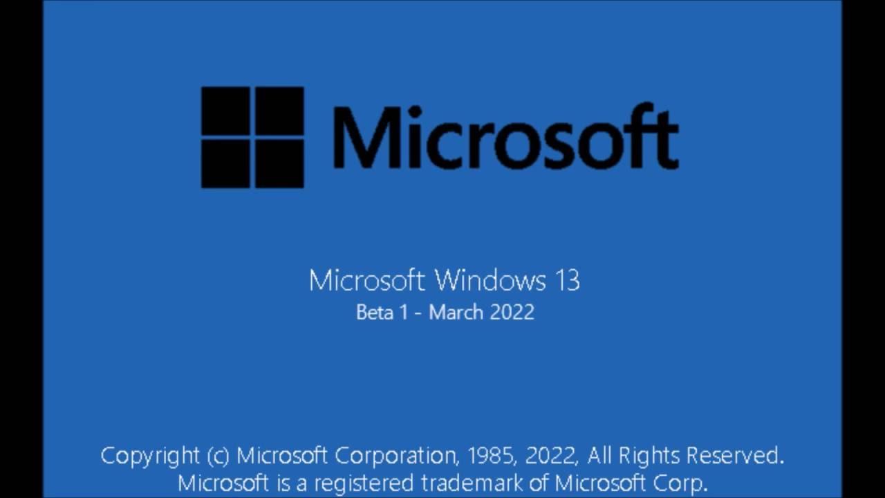 microsoft windows 13 release date