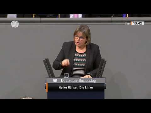 Bundestag, Heike Hänsel, DIE LINKE Ermordung Soleimanis = Staatsterrorismus u. Völkerrechtsbruch