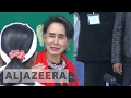 Suu Kyi calls for unity in divided Myanmar