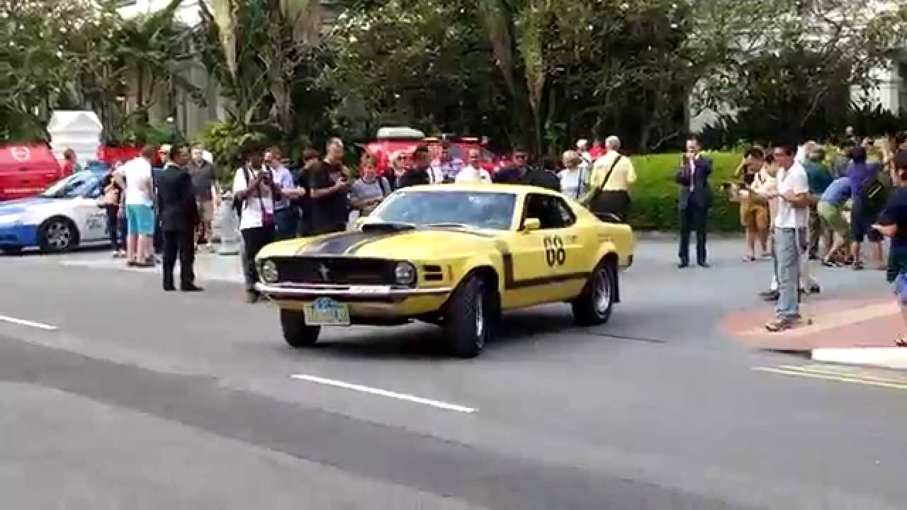 Ford Mustang Boss In Singapore Acceleration Youtube