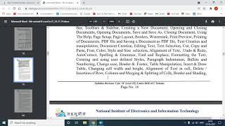 Download SYLLABUS OF WEB DESIGNING AND PUBLISHING , M2-R5
