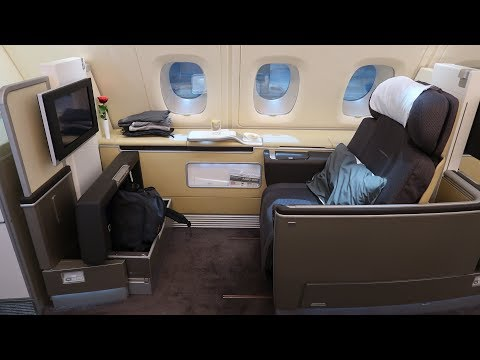 Lufthansa A380 First Class Frankfurt to Bangkok (+ First Cla