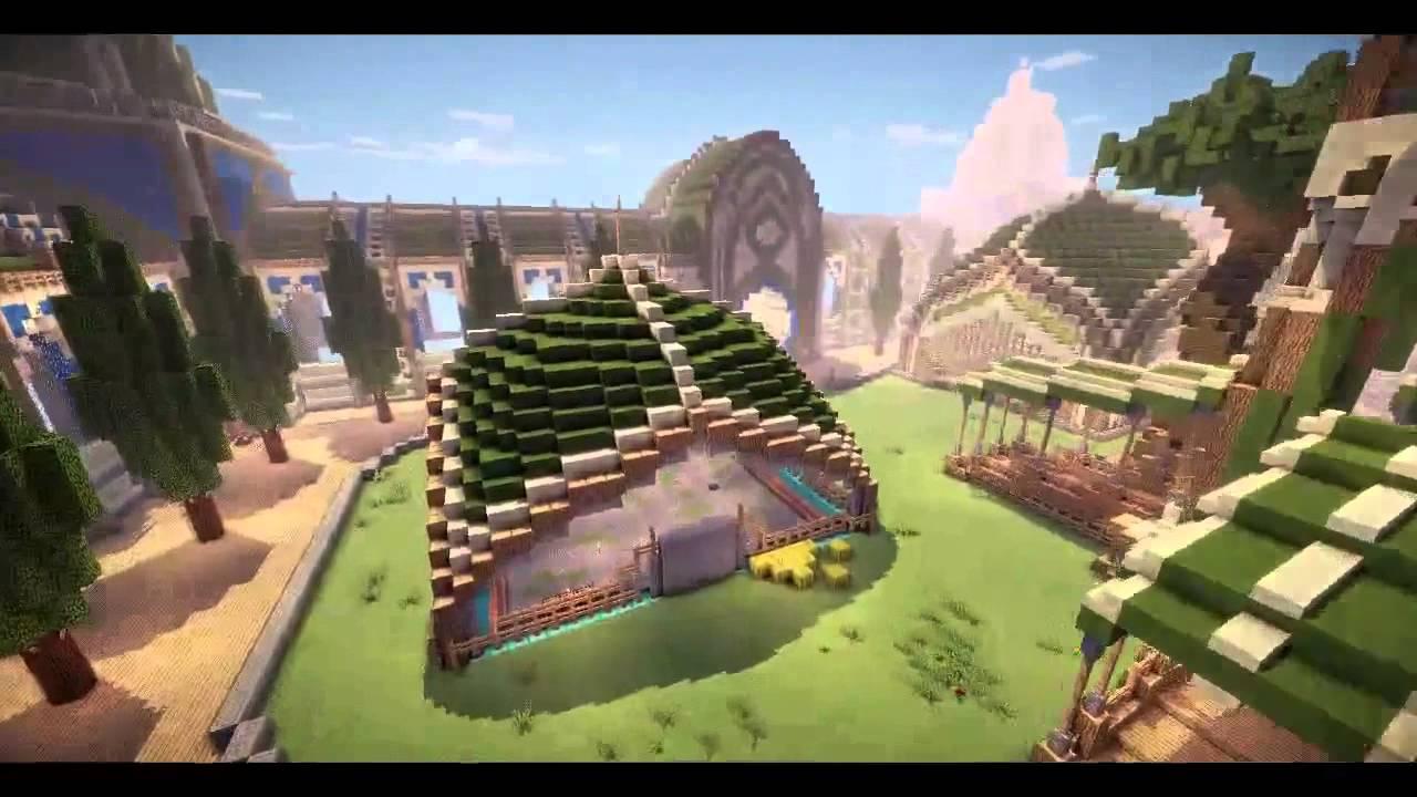 Готовые Спавны для Сервера Minecraft