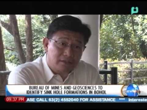 NewsLife: Bureau of Mines and Geosciences to identify  sink hole formations in Bohol - 10/21/2013