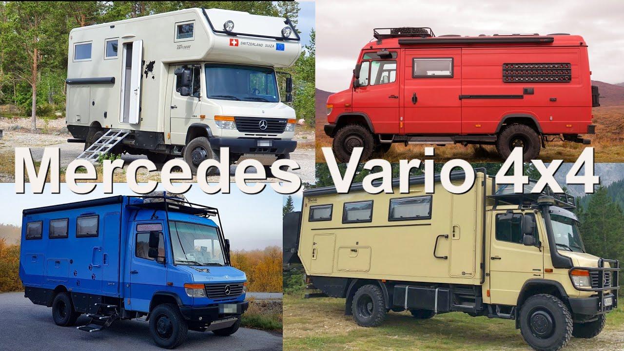 Mercedes Vario 4x4 - Das ideale Fernreisemobil / A great overlander vehicle