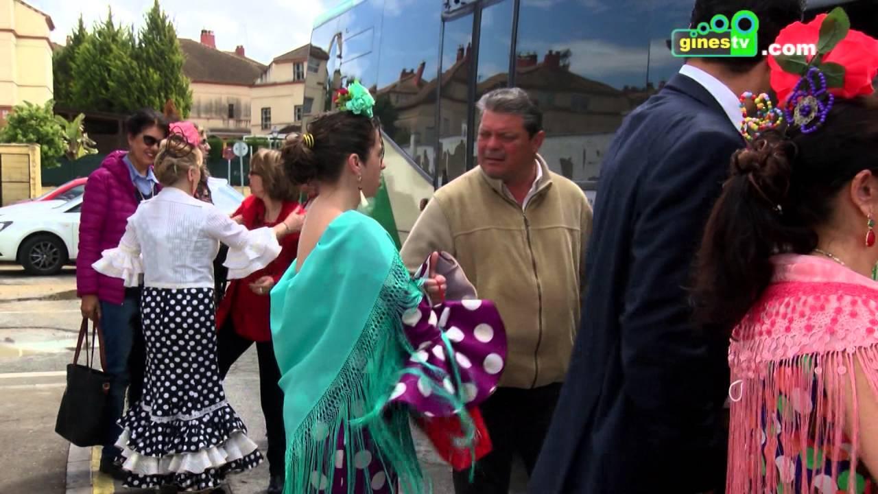 10.000 personas disfrutaron del servicio especial de autobuses entre Gines y la Feria