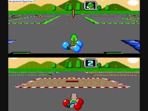 Super Mario Kart Ultra Battle Course 4 Maze Youtube