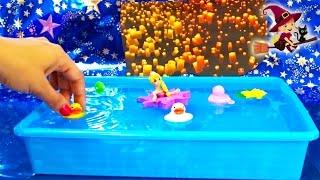 Rapunzel y Pascal Juguetes de baño thumbnail
