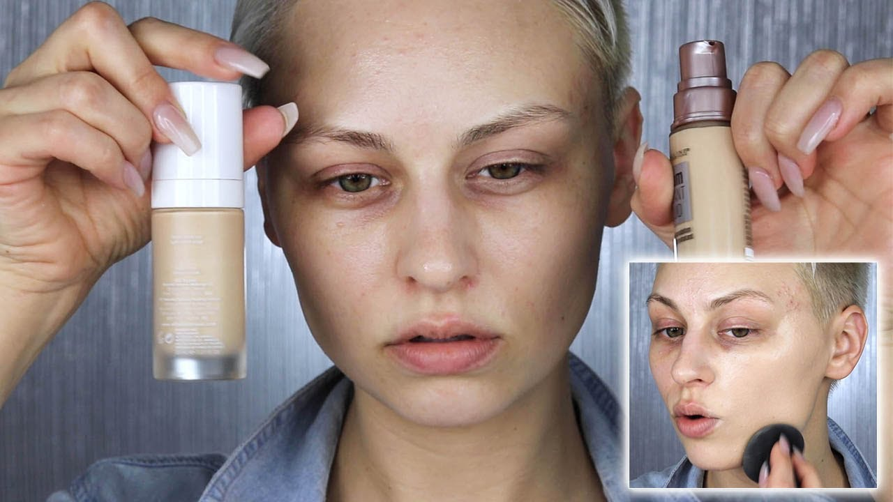 the best foundations for fair olive skin - youtube