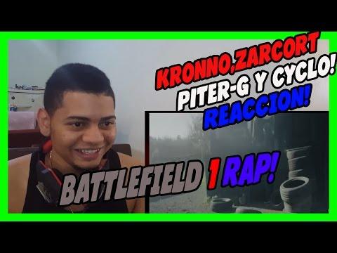 BATTLEFIELD 1 RAP - KRONNO, ZARCORT, PITER G Y CYCLO - VIDEO REACCION!!!