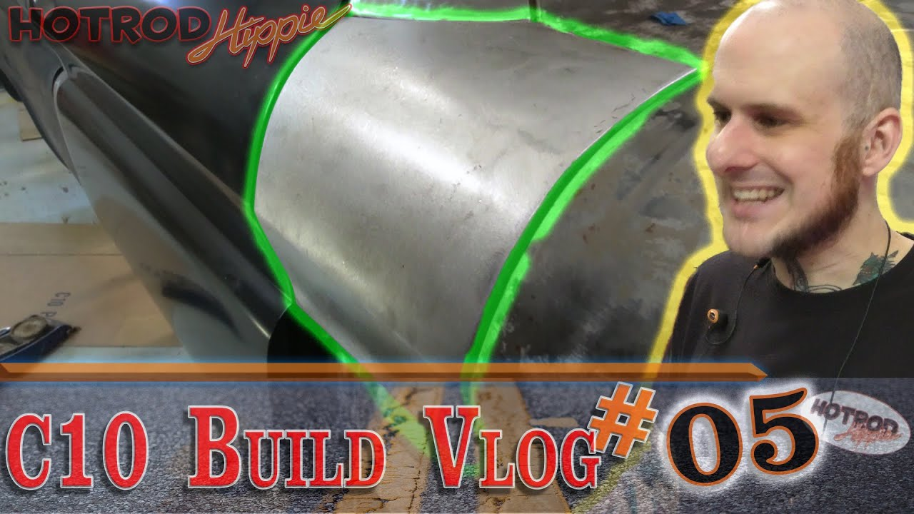 Custom Car Panel Fitting - C10 Build - Vlog 05