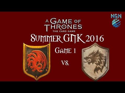 Game of Thrones Card Game | Summer Game Night Kit (October 2016) - Game 1