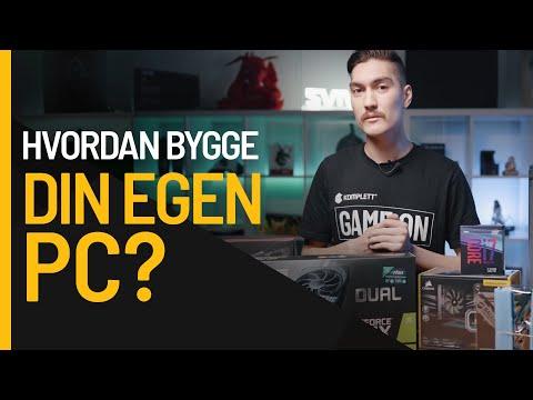 Hvordan bygger man en gaming-PC steg for steg?