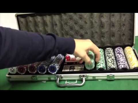 "Poker Chip Set ""Ultimate"" 500 Chips"
