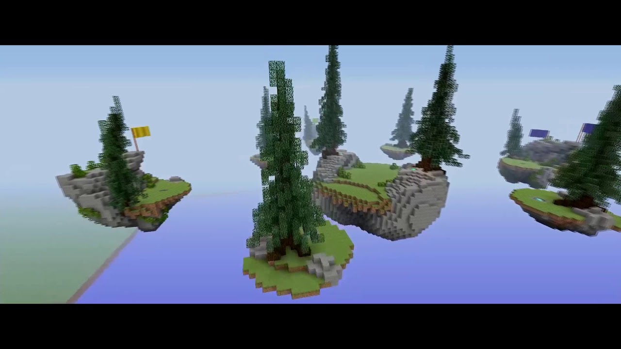 Minecraft Xbox 360 One Ps3 4 Modded Hypixel Bedwars Map W Download Youtube