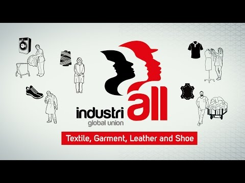IndustriALL Textile, Garment, Leather & Shoe - Frankfurt Conference, May