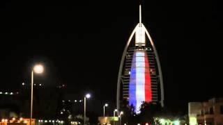 Dubai's solidarity to France