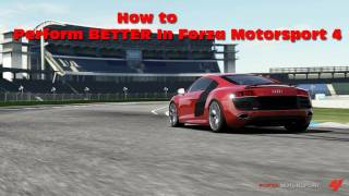 How to be the BEST In Forza Motorsport 4 | Guide on driving better and advice